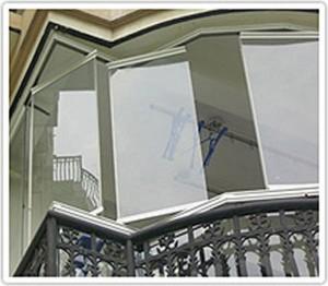 Balkonu stiklinimas kaina