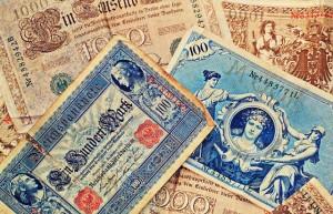 Senas banknotas